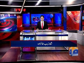 Aaj Shahzeb Khanzada kay Saath - 12 January 2016