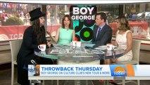 Boy George Talks The Return Of Culture Club   TODAY