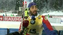 Biathlon - CM (H) - Ruhpolding : M. Fourcade «Je me suis battu sur le dernier tir»