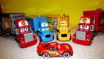 Disney Pixar Cars Screamin Banshee COLOSSUS XXL Frank take on Lightning McQueen Mater Just
