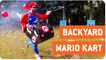 Real Life Mario Kart with Roman Candles