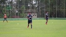 Gabriel Jesus e Barrios fazem belos gols em treino do Palmeiras