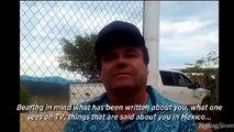 El Chapo Guzman dice Dios lo ayudó a escapar de la carcel