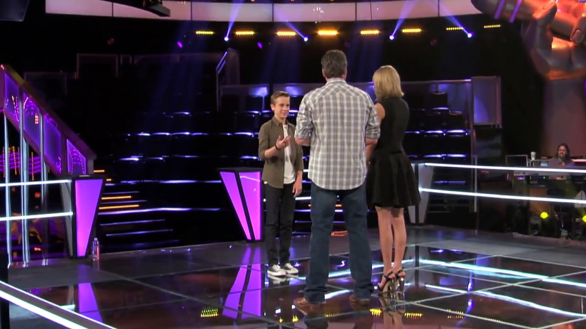 Taylor Swift _ Dancing, Tall People & Lots of Taylors _ The Voice Season 7 Knockout Rehearsals_