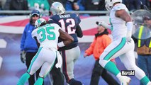 Tom Bradys 17 Yard Run Sparks Patriots over Miami Dolphins 41-13