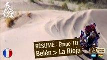 Résumé des étapes 9 et 10 - Camion/Quad - (Belen / La Rioja)