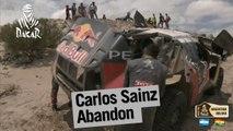 Carlos Sainz abandons / abandona / abandonne - Stage / Etapa / Etape 10 - Dakar 2016