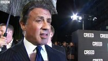 Creed premiere: Sylvester Stallone on Rocky, Oscars, and Donald Trump