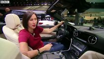 Luxury cars at the Detroit auto show