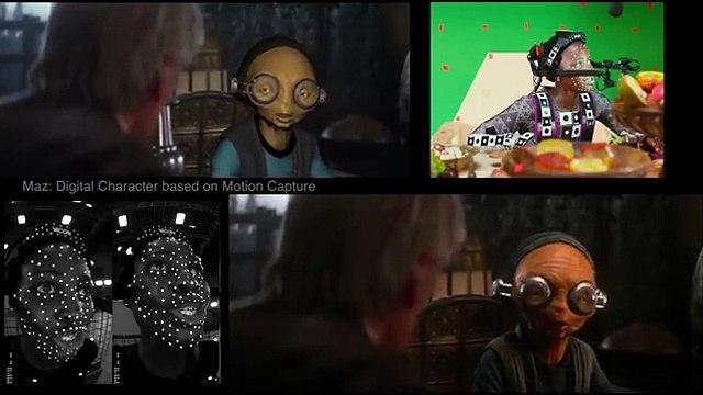 STAR WARS: THE FORCE AWAKENS VFX Reel With New Full Scenes (2015) Oscars (720p FULL HD)