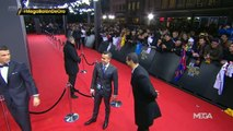 FAN jumps to the red carpet to meet and greets Cristiano Ronaldo | FIFA Ballon dOr 2015