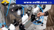 VFL-2 filling machine and capping machine for round bottles