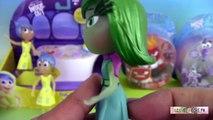 Vice Versa Inside Out Console Joie Dégoût Tristesse Colère Peur Figurines
