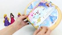 Cendrillon Panier de pique-Nique station de jeux Play Doh la Nourriture La Cenicienta Juego de pique-Nique Cendrillon Jouet Vidéos