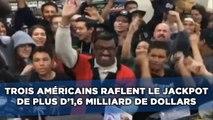 Trois Américains raflent le jackpot d'1,6 milliard de dollars