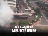 Jakarta frappée par une série d'attaques 'terroristes'