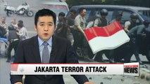 Jakarta rocked by bomb blasts and ensuing gun battle