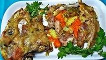 طريقة إعداد راس علوش مصلي فى الفرن, راس خروف مصلي فى الفرن, Tête de mouton repas