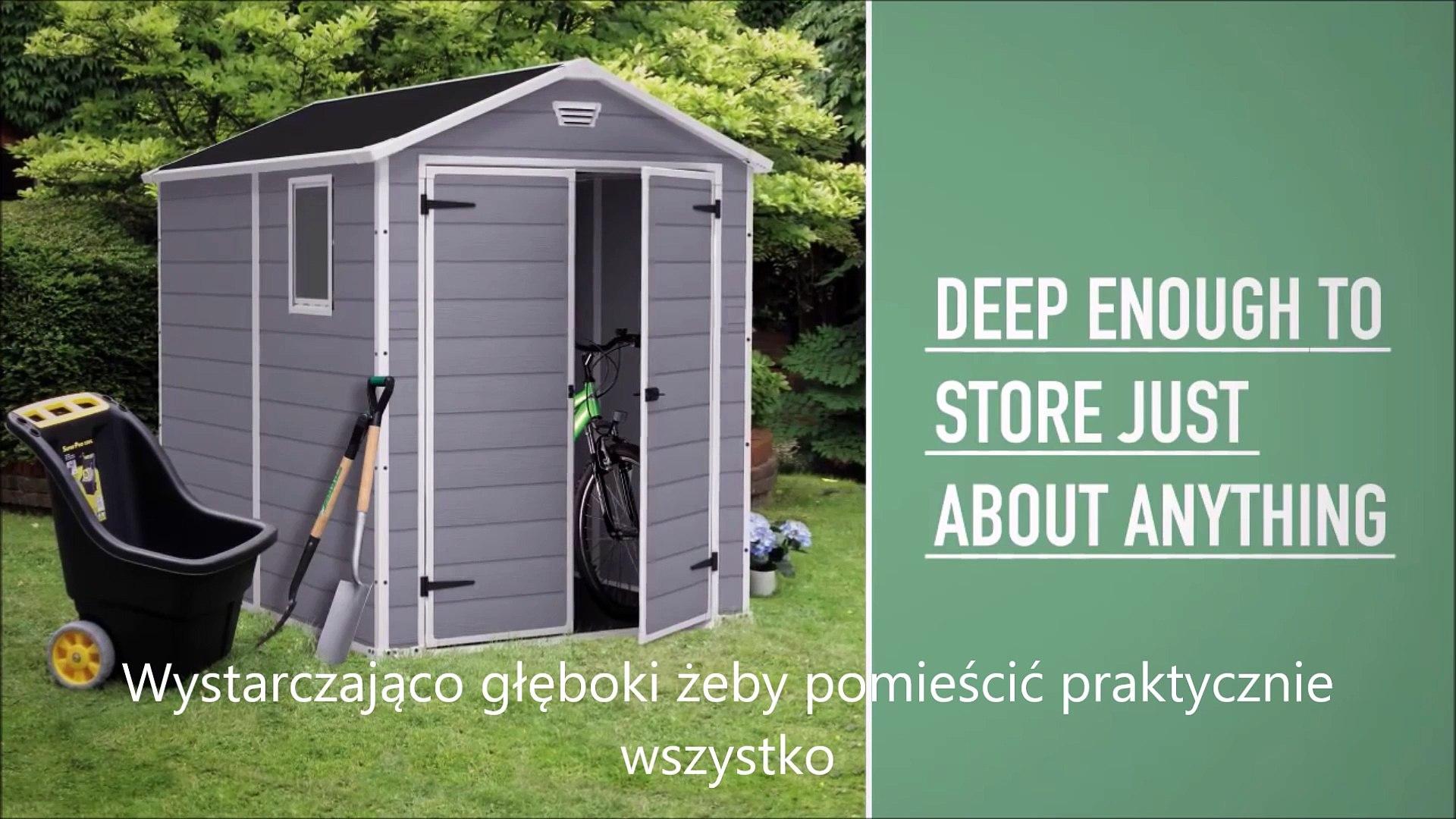 Domek narzędziowy Keter Manor 6x8 Ogrodosfera.pl