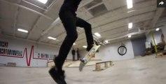 5 INSANE Back-to-Back No Comply Tricks   skating tricks