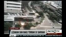 Excusif : Les images de l'attentat à la bombe à Jakarta en Indonésie !