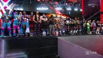 Stephanie McMahon, Vince McMahon, WWE Roster, The Wyatt Family and Roman Reigns Segment