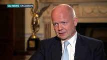 William Hague makes EU exit warning