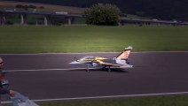 RC TURBINE JET CRASH !!! DASSAULT RAFALE RC JET WITH FIRE IN THE ENGINE TURBINE EXPLOSION !!!  Hobby And Fun