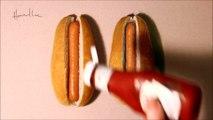 Buzz : Lequel est vrai? Lequel est faux ?  ( Hot Dog Drawing Challenge ) !