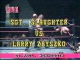 Larry Zbyszko vs Americas Champion Sgt. Slaughter