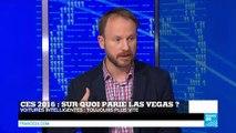 #TECH24 - CES 2016 : Sur quoi parie Las Vegas ?
