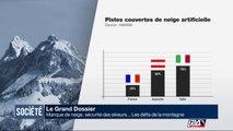 Le Grand Dossier : manque de neige, sécurité des skieurs ... Les défis de la montagne