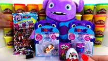 Dreamworks Movie Home Loving Oh Boov Giant Play Doh Surprise Egg with Talking Oh Plush Doll