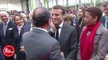 Hollande taquine Macron sur sa barbe !  - ZAPPING ACTU DU 14/01/2016