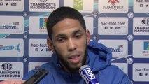 Avant HAC - Paris FC, interview de Jérôme Mombris