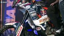Dakar commercial ,  Iedere dag te zien op Eurosport tv ,  Win een rit in de Dakar buggy!