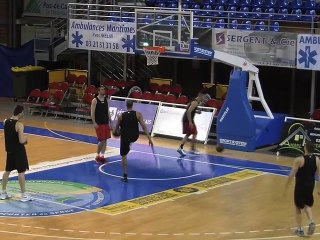 Warm up SOMB/Bourg-en-Bresse