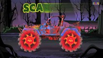 Scary Monster Street Vehicles | Scary Vehicles
