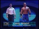 WWF SmackDown! 072700 Chris Benoit & Trish Stratus vs. Lita & Chris Jericho