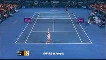 Maria Sharapova v Ana Ivanovic highlights (final) - Brisbane International 2015