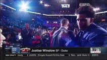 June 25, 2015 - ESPN - Miami Heat select Dukes Justise Winslow with the 2015 NBA Draft 10th Pick!