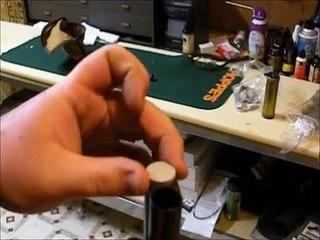 Loading & Shooting double barrel Damascus 12 gauge black powder shotgun