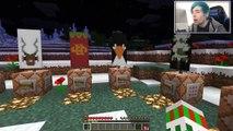 Minecraft | BLEW UP SANTAS SLEIGH!! | Xmas Accident Custom Map