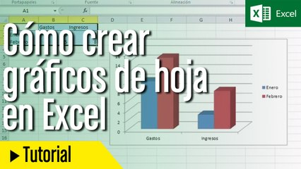 Cómo crear y utilizar gráficos de hoja en Excel   Tecnología ...