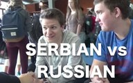 What Serbian sounds like to foreigners/ Serbian vs Russian