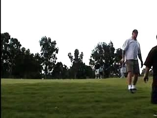 Undertaker playing Golf