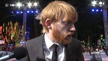 Domhnall Gleeson pays tribute to Alan Rickman at The Revenant premiere