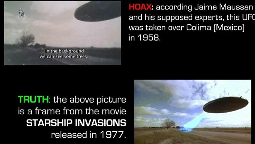 Speedebunking Jaime Maussan: UFO over Colima (Mexico) 1958
