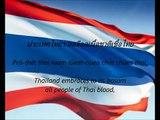 Thai National Anthem - 'Phleng Chat Thai' (TH EN)