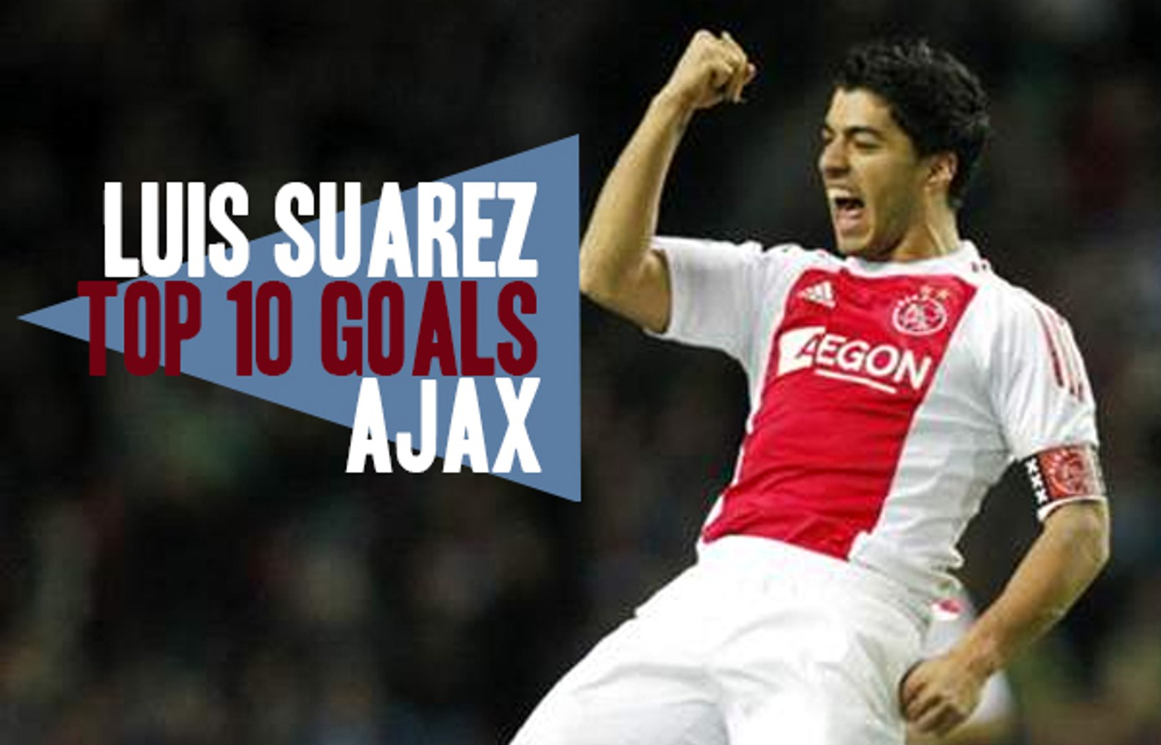 online retailer 1f125 52ffd Luis Suarez | Top 10 Goals with Ajax